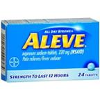 Aleve 24 Tablets