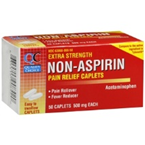Quality Choice Extra Strength Pain Relief 50 Caplets