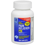 Quality Choice Pain Relief PM 100 Caplets