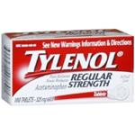 Tylenol Regular Strength (325mg) 100 Tablets