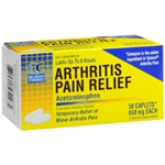 Quality Choice Arthritis Pain Relief (650mg) 50 Caplets