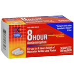 Quality Choice 8-Hour Pain Relief (650mg) 50 Caplets