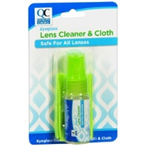 Quality Choice Eyeglass Lens Cleaner and Cloth 0.5 fl oz