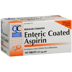 Quality Choice Enteric Aspirin 325mg 100 Tablets
