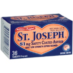 St. Joseph Low Dose Aspirin (81 mg) 36 MicroTablets