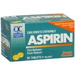 Quality Choice Chewable Aspirin 81mg 36 Tablets