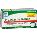 Quality Choice Headache Relief Extra Strength 24 Tablets