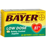 Bayer Low Dose (81mg) Safety Coated 32 Tablets