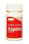 Aspirin 325mg Enteric Coated 100 Tablets
