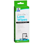 Quality Choice Quick and Clear Lens Wipes 30 Wipe Packets