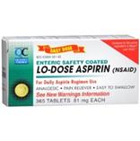 Aspirin 81mg Enteric Coated 365 Tablets
