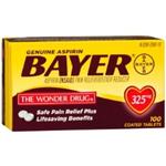 Bayer 325mg 100 Tablets