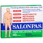 Salonpas Pain Relieving Patch (40 Patches)