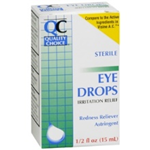 Quality Choice Sterile Eye drops Irritation Relief 0.5 fl oz