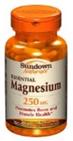 Sundown Naturals Magnesium 250 mg 100 Caplets