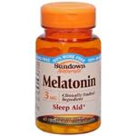 Sundown Naturals Melatonin 3 mg 120 Tablets