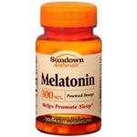 Sundown Naturals Melatonin 300 MCG 120 Tablets