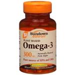 Sundown Naturals Plant Based Omega-3 30 Softgels