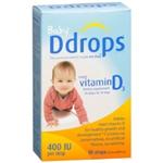 Baby Ddrops Liquid Vitamin D3 400 IU per Drop 2.5 ml
