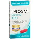FEOSOL CARBONYL IRON 60 CAPLETS