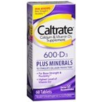 CALTRATE 600 +D3 60 TABLETS