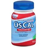 OS-CAL CALCIUM +D3 75 CAPLETS