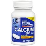 QC CALCIUM+D3 60 TABLETS