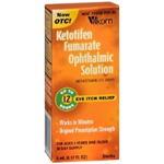 Akorn Ketotifen Fumarate Ophthalmic Solution Eye Itch Relief 5 ml