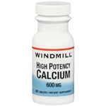 WINDMILL CALCIUM 600 MG 60 TABLETS