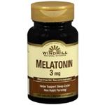 WINDMILL MELATONIN 3 MG 100 TABLETS
