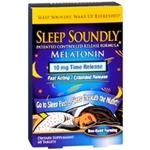 SLEEP SOUNDLY MELATONIN 10 MG 60 TABLETS