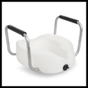 Invacare Rasied Toilet Seat with Arms