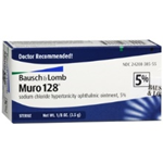 Bausch and Lomb Muro 128, 5% 1/8oz