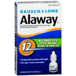 Bausch and Lomb Alaway Allergry Eye Relief 0.34 fl oz
