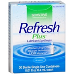 Refresh Plus Eye Drops 30 Single-Use Containers 0.01 fl oz