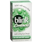 Blink Contacts Lubricating Eye Drops 0.34 fl oz