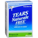 Alcon Tears Naturale Forte Mild/Moderate Dry Eye 36 Single-Use Vials