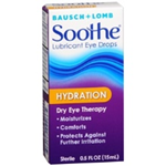 Bausch and Lomb Soothe Hydration Eye Drops 0.5 fl oz