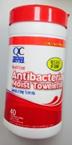 QC Moist towelettes