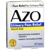 AZO Urinary Pain Relief (30 Tablets)