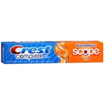 Crest Complete Whitening + Scope Citrus Splash Toothpaste 6.2 oz
