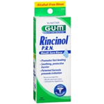 GUM Rincinol P.R.N Mouth Sore Rinse 4 oz