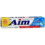 Aim Multi-Benefit Cavity Protection Ultra Mint Gel Toothpaste 6 oz