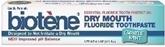 Biotene Dry Mouth Fluoride Toothpaste Gentle Mint 4.3 oz