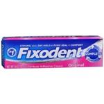 Fixodent Original Denture Adhesive Cream 1.4 oz