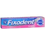 Fixodent Original Denture Adhesive Cream 2.4 oz