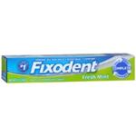 Fixodent Complete Fresh Mint Denture Adhesive Cream 2.4 oz