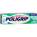 Super Poligrip Denture Adhesive Cream Zinc Free 1.4 oz