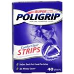 Super Poligrip Denture Adhesive Strips 40 count