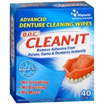 D.O.C. CLEAN-IT Advanced Denture Cleaning Wipes